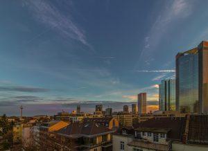 Über den Dächern von Frankfurt Fotograf Christian Bill