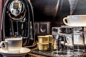 Mercure Frankfurt City Center Fair double room koffee machine
